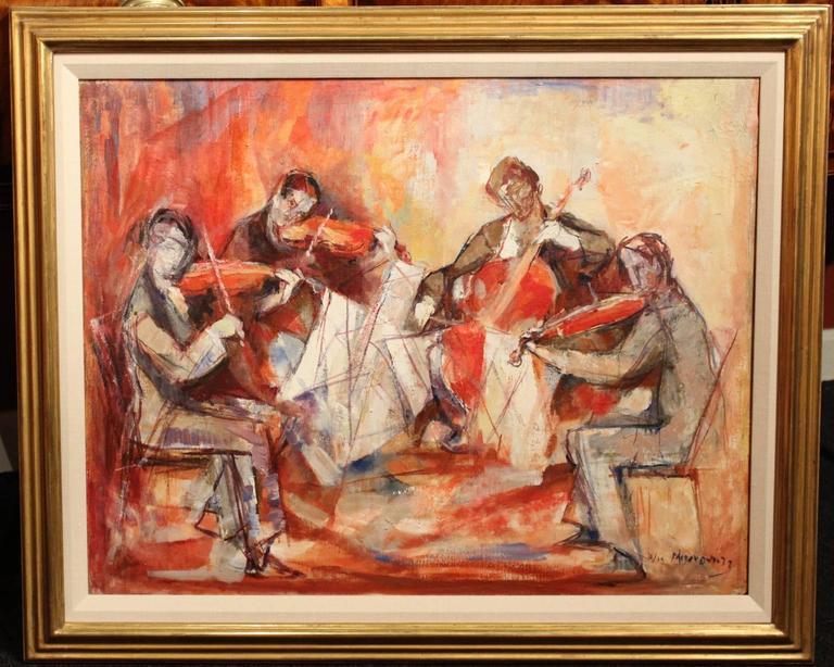 Artist Who Painted String Quartet