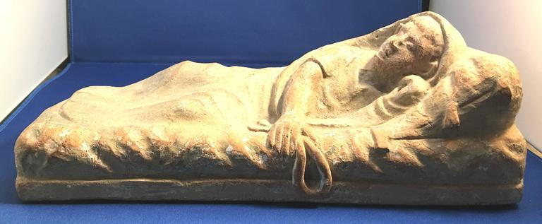 Rare Terracotta Sculpture of an Ancient Etruscan Reclining Figure 2 & Rare Terracotta Sculpture of an Ancient Etruscan Reclining Figure ... islam-shia.org