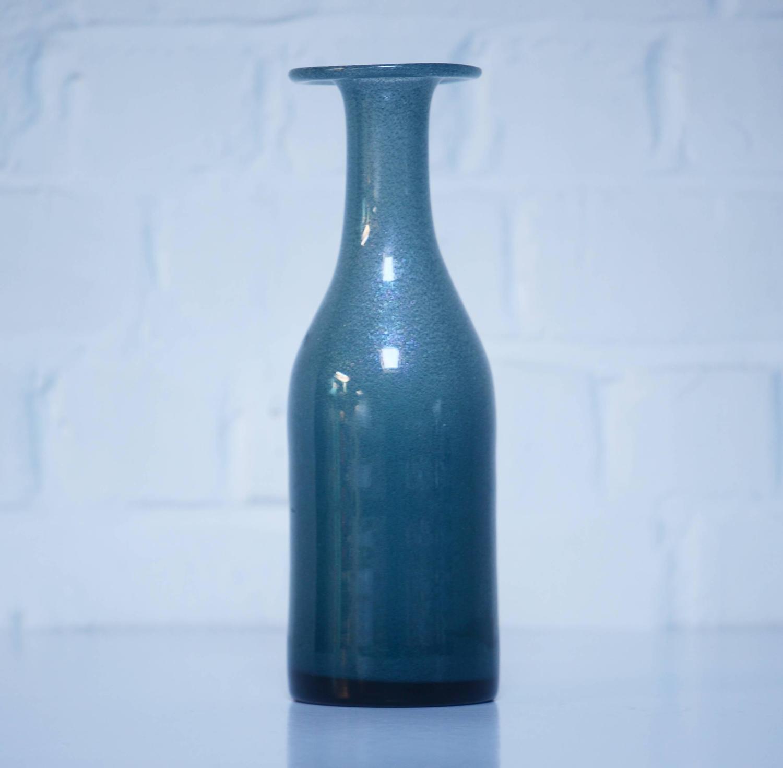 Erik Hoglund Set Of Nine Unique Glass Vases By The Artist