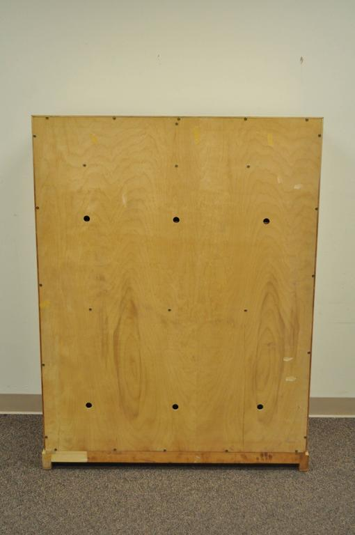 Tommi Parzinger for Parzinger Originals Bleached Elm Armoire or Wardrobe Cabinet For Sale 3