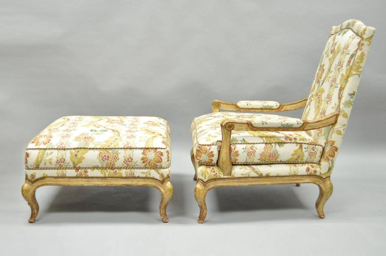 Nancy Corzine Country French Louis Xv Style Bergere Lounge
