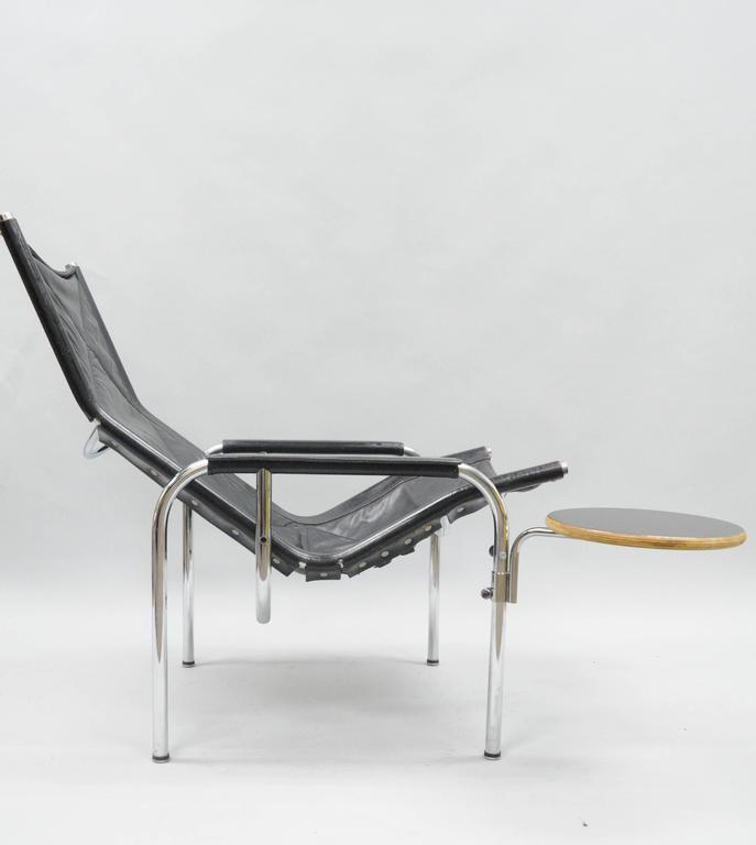 Surprising Hans Eichenberger For Strassle Chrome Reclining Leather Pabps2019 Chair Design Images Pabps2019Com