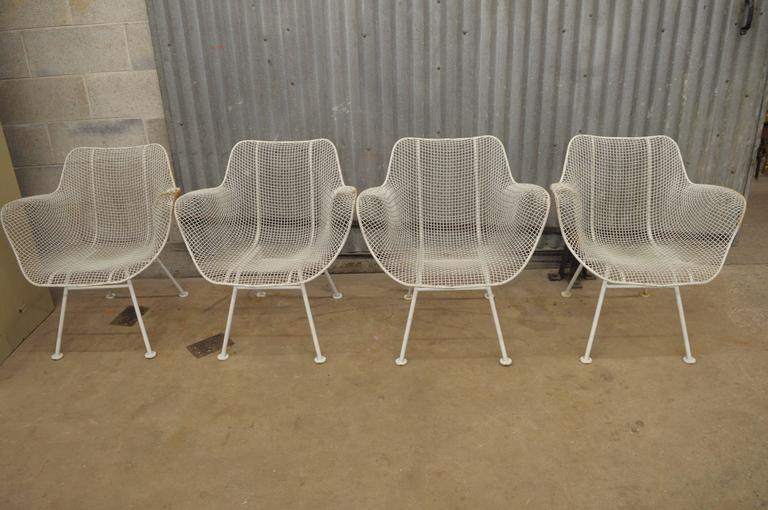 5 Piece Russell Woodard Sculptura Patio Dining Set 4