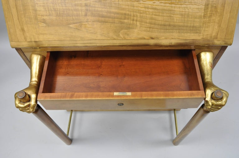 20th Century Amanuense Secretary Desk by Adolfo Natalini for Mirabili Limited Edition 2/99 For Sale