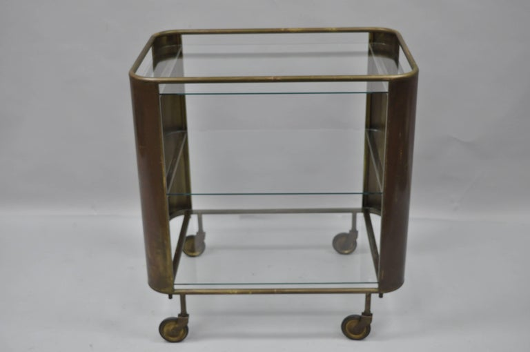 unique bar carts man cave bar vintage italian midcentury burnished brass and glass modernist bar cart trolley item features antiqued burnished brass glass modernist bar cart trolley table