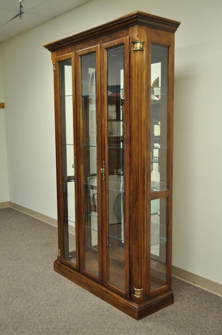 Beautiful Quality Vintage Display Cabinet By Pulaski Furniture Co.  (believed To Be Solid Cherry