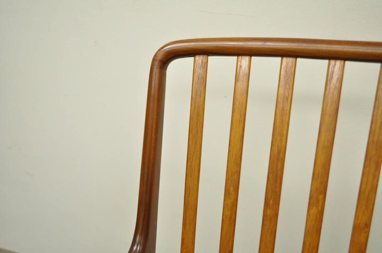 Set of Six Teak Danish Modern Dining Chairs by Svend A. Madsen for Moreddi 8