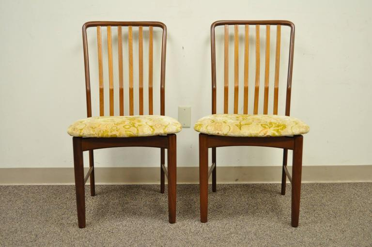 Set of Six Teak Danish Modern Dining Chairs by Svend A. Madsen for Moreddi 6