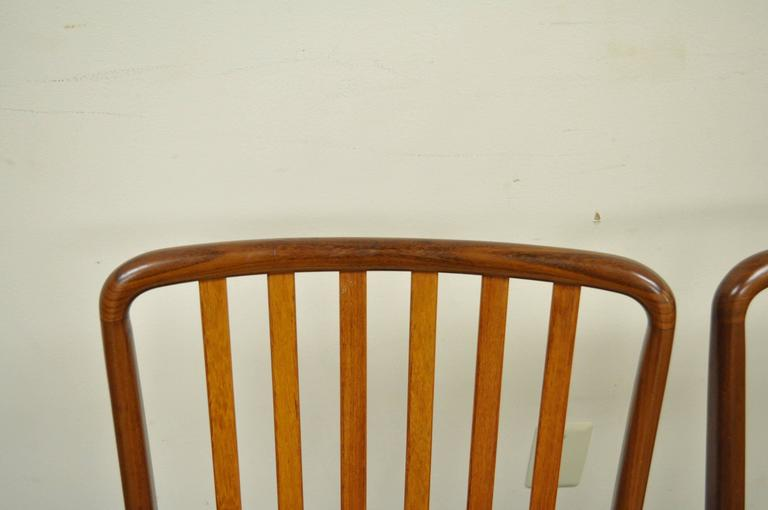 Set of Six Teak Danish Modern Dining Chairs by Svend A. Madsen for Moreddi 9