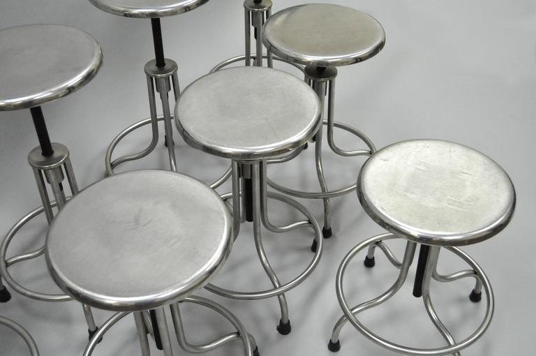 Vintage Stainless Steel American Industrial Modern