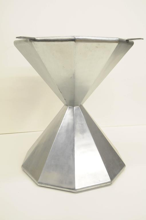 Faceted Hour Glass Dining Center Table Pedestal Base  : DSC1491664209079l from www.1stdibs.com size 510 x 768 jpeg 15kB