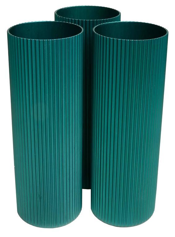 American Modern Alcoa Anodized Aluminum Vases  For Sale