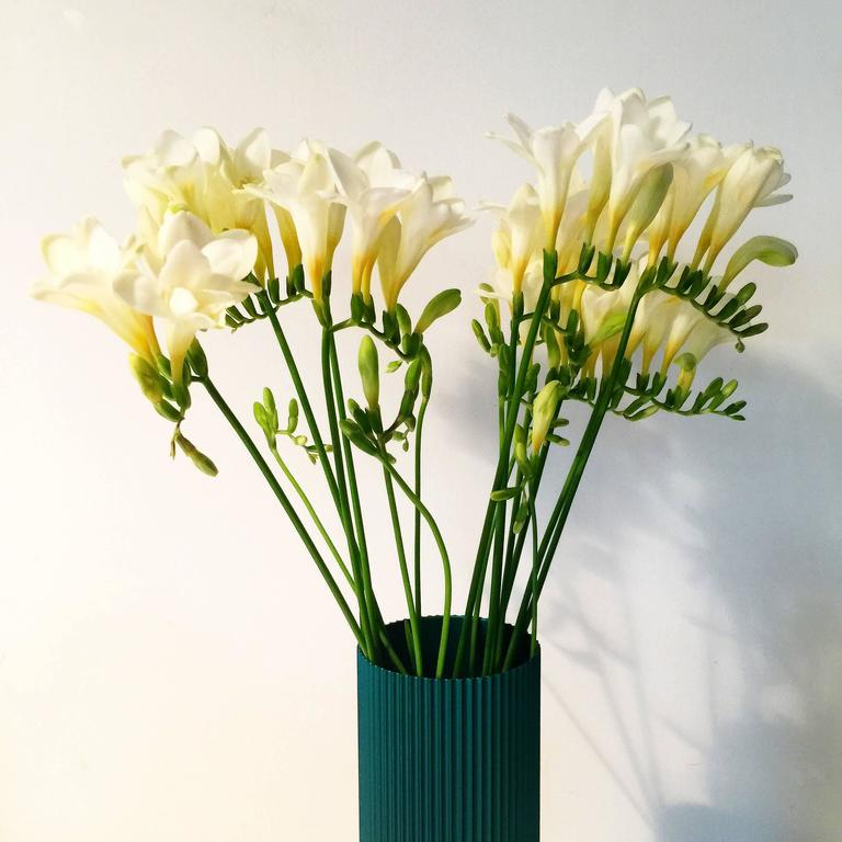 20th Century Alcoa Anodized Aluminum Vases  For Sale