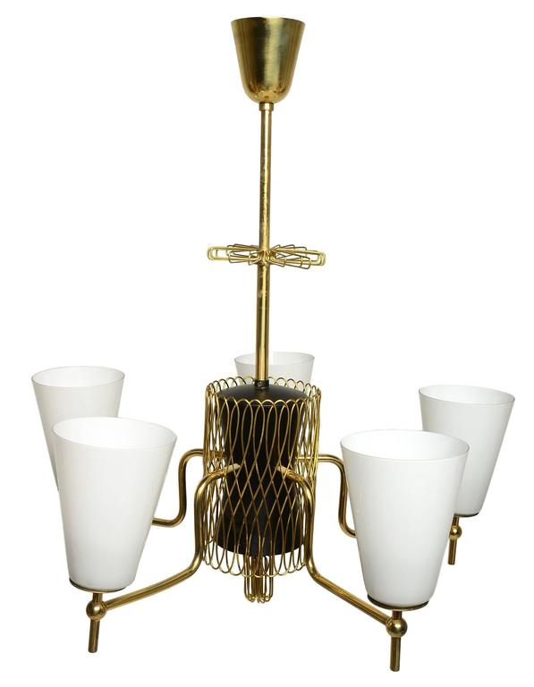 Finnish Superb Paavo Tynell Chandelier For Sale