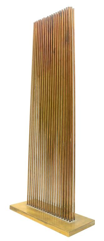 American Modern Bright Harry Bertoia Sonambient Sculpture For Sale