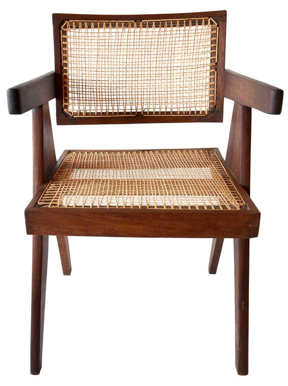 Mid-20th Century Exceptional Set of Eight Sissoo Rosewood Armchairs by Pierre Jeanneret For Sale