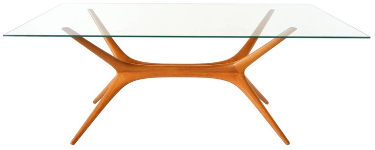 Scandinavian Modern Tapio Wirkkala Sculptural Coffee Table For Sale