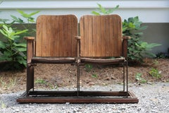 Antique French Theater Seats