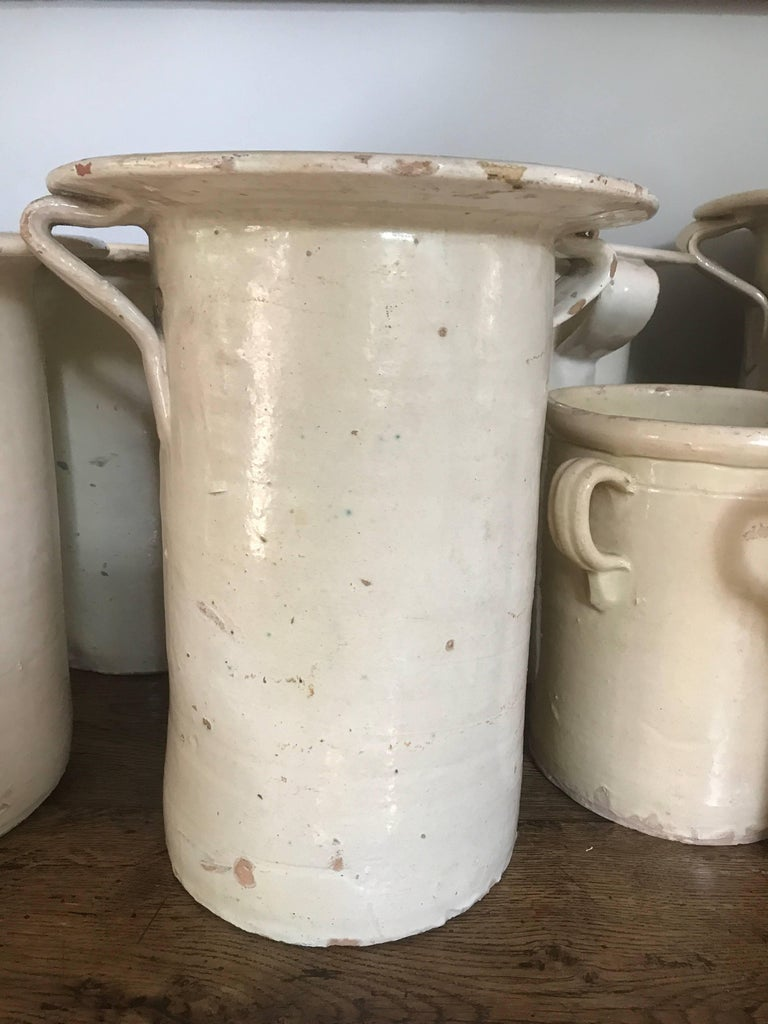 Antique Italian Terracotta Olive Jars In Good Condition For Sale In Nashville, TN