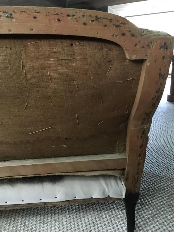 19th Century French Settee For Sale 3