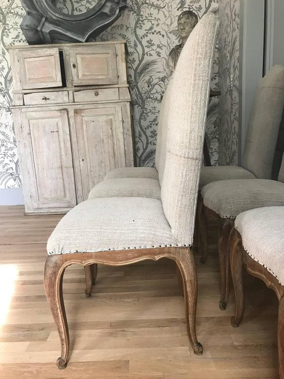 Set of Six French Dining Chairs 5