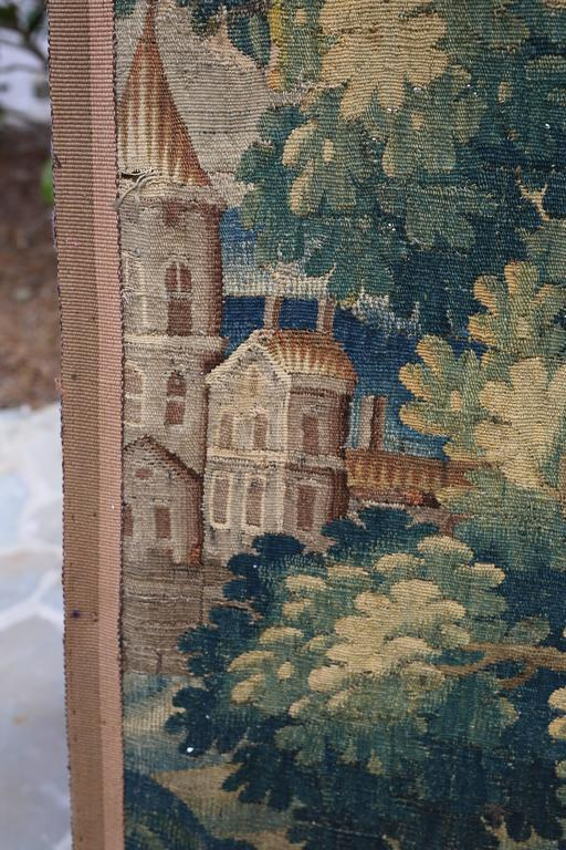 18th Century Flemish Verdure Tapestry In Good Condition For Sale In Nashville, TN
