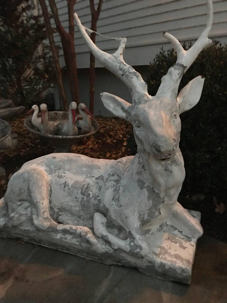 Cast Stone Garden Deer  10