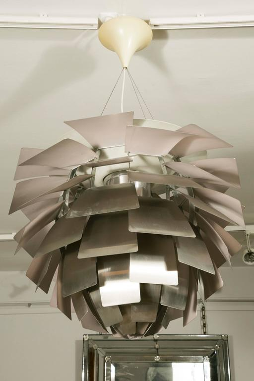 Mid-Century Modern Large 'Artichoke' Ceiling Fixture by Poul Henningsen for Poulsen For Sale
