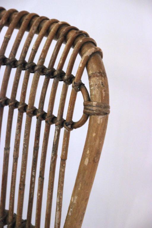 Pair of Armchairs, Bamboo, circa 1970, Italy 5