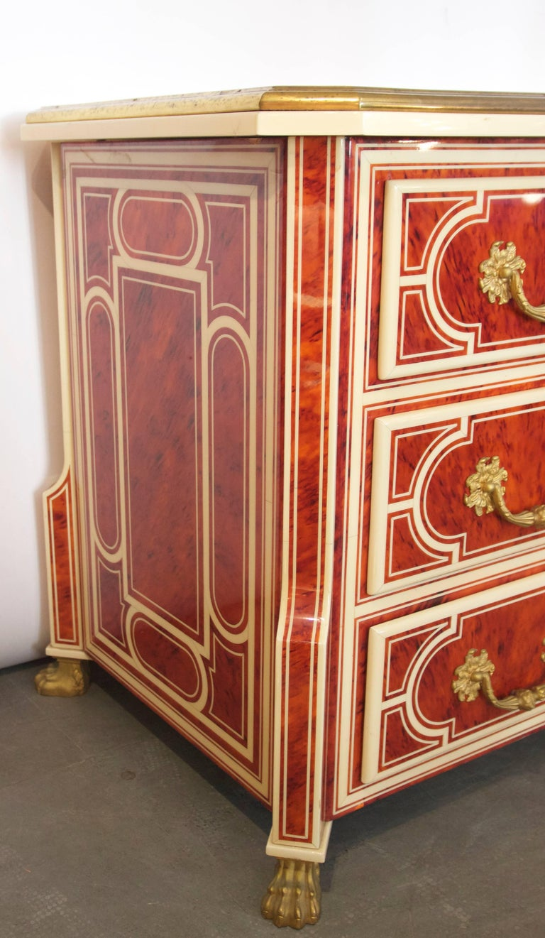 Style Jean Claude Mahey, Chest of Drawers Mazarine, circa 2000 In Good Condition For Sale In Nice, Cote d' Azur