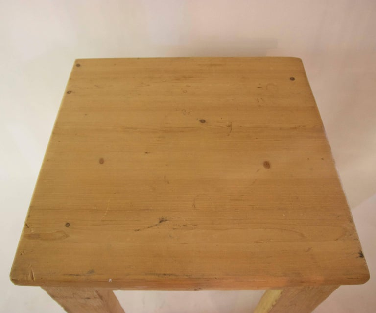 Jean Prouvé with Guy Rey-Millet, Dining Room Table, Wood, Refuge de la Vanoise In Good Condition For Sale In Nice, Cote d' Azur