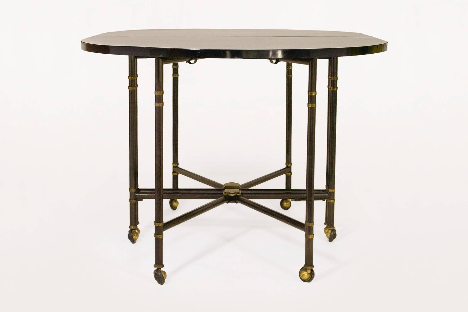 Maison jansen table royal dining room table circa 1970 for Royal dining table