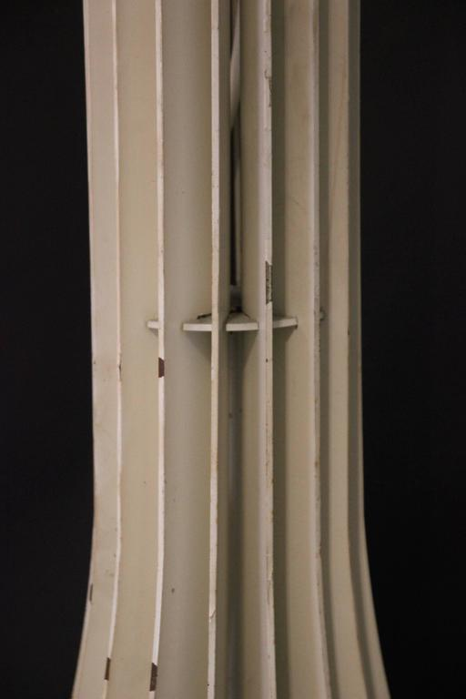 André Jean Doucin, Floor Lamp, Blades of Steel, circa 1970, France For Sale 1
