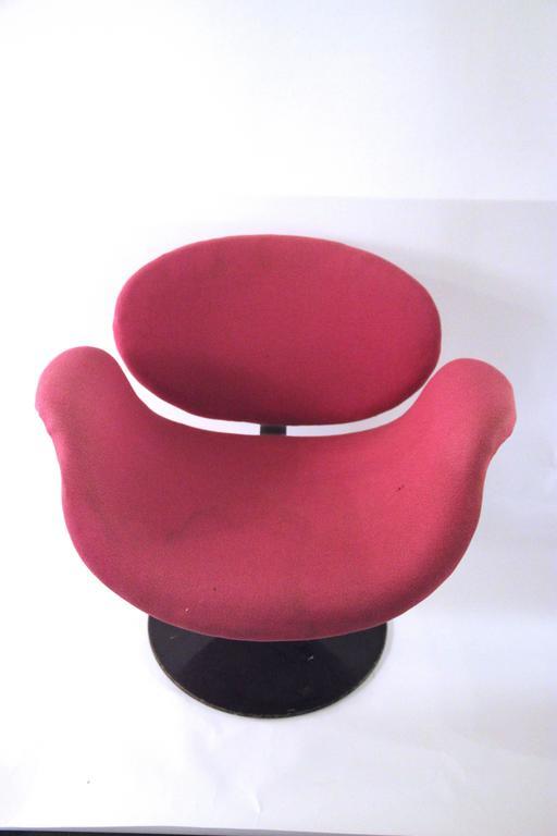 "Mid-Century Modern Pierre Paulin, Pair of ""Little Tulip"" Armchairs, 163 Model, Artifort, circa 1965 For Sale"
