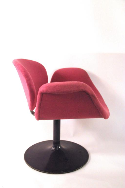 "Italian Pierre Paulin, Pair of ""Little Tulip"" Armchairs, 163 Model, Artifort, circa 1965 For Sale"