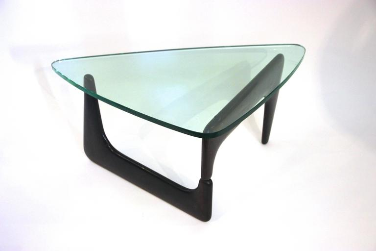 Style Of Isamu Noguchi For Herman Miller In 50 Coffee Table Gl Tray