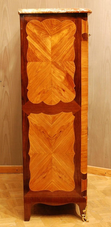 louis xv secretaire abattant stamped genty for sale at 1stdibs. Black Bedroom Furniture Sets. Home Design Ideas