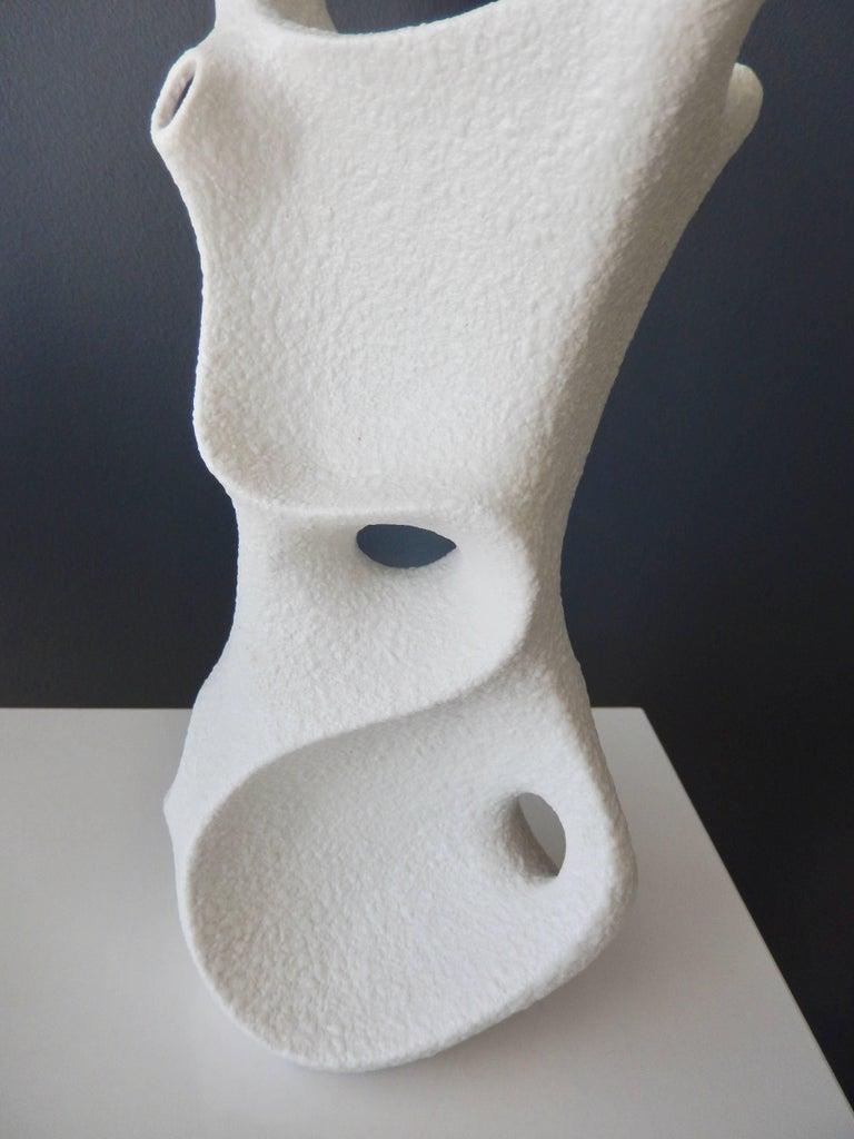 German 1960s Sgrafo Modern Vase,