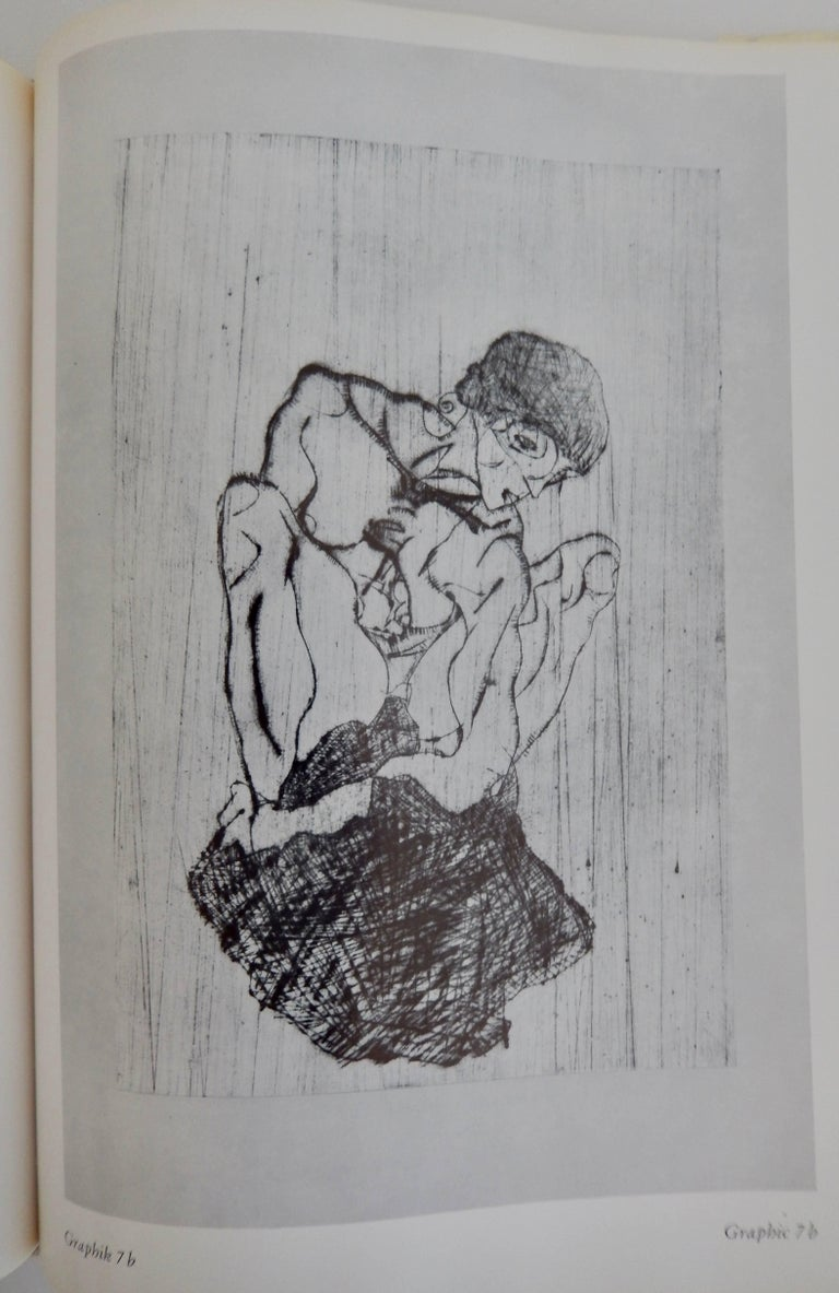 American Egon Schiele, The Graphic Work, Reference Book by Otto Kallir, 1970 For Sale
