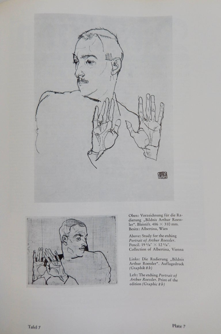 Egon Schiele, The Graphic Work, Reference Book by Otto Kallir, 1970 In Good Condition For Sale In Winnetka, IL