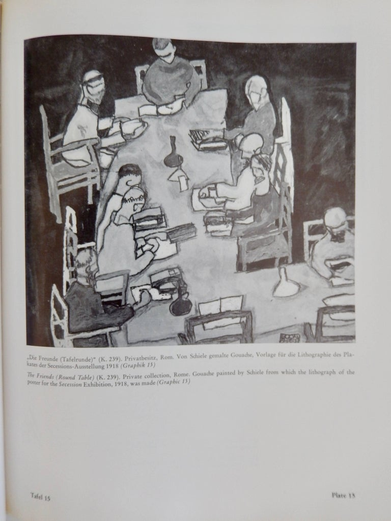 Late 20th Century Egon Schiele, The Graphic Work, Reference Book by Otto Kallir, 1970 For Sale