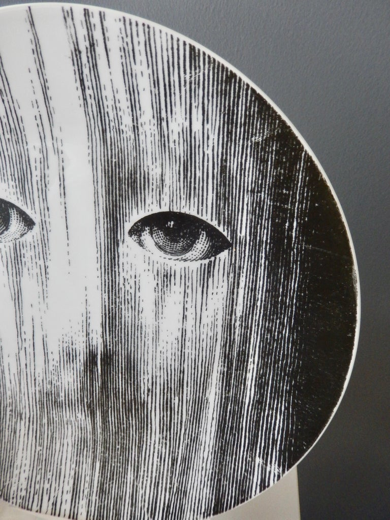 Modern Fornasetti Face Plate, Tema e Variazioni, N116 For Sale