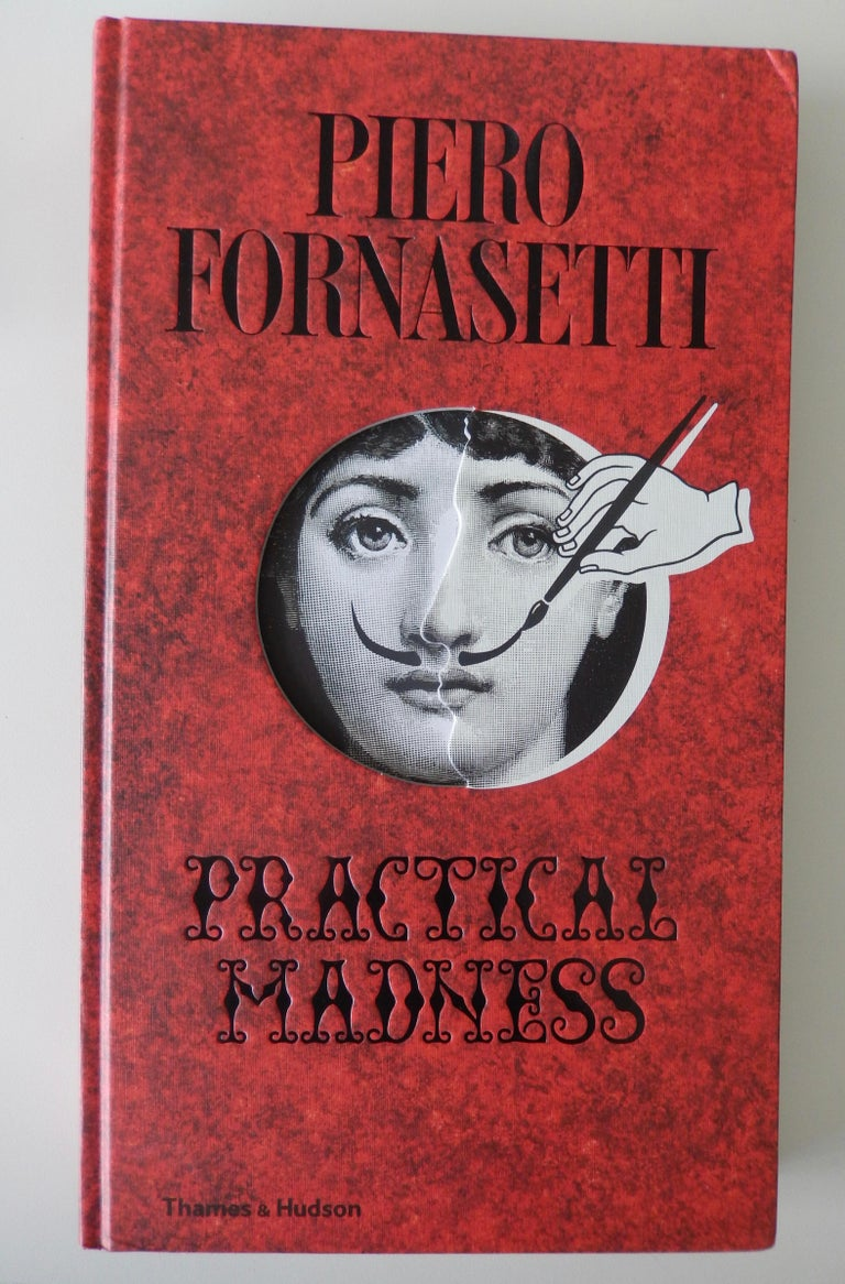 Mid-20th Century Fornasetti Face Plate, Tema e Variazioni, N116 For Sale