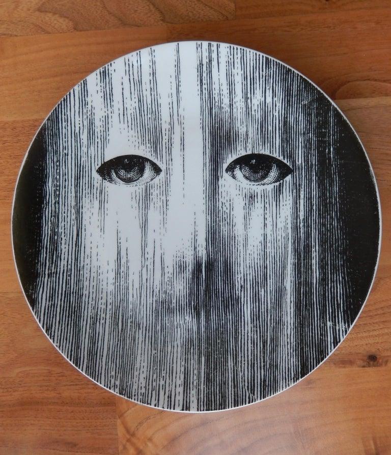 Italian Fornasetti Face Plate, Tema e Variazioni, N116 For Sale