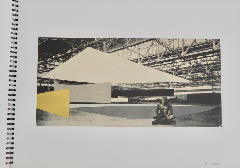 Mid-20th Century 1969 Ludwig Mies van der Rohe/ Folio of Architectural Drawings/MOMA For Sale