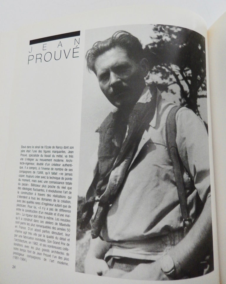 Le Style 50: Un moment de l'art Francais, an important reference catalog with black and white and color illustrations featuring notable French mid-century artists and designers. Included is work by Charlotte Perriand, Georges Jouve, Jacques Adnet,