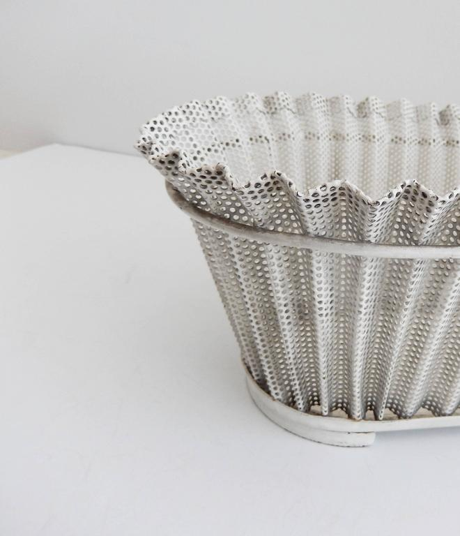 French Mid-Century, Perforated Metal