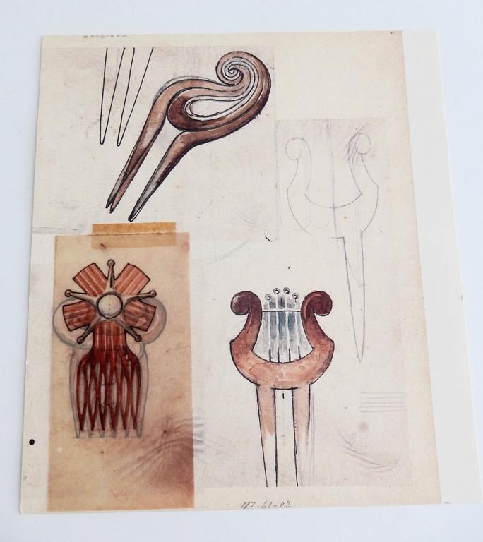 Mexican Special Edition Portfolio of Original Sketches by William Spratling, 1987 For Sale