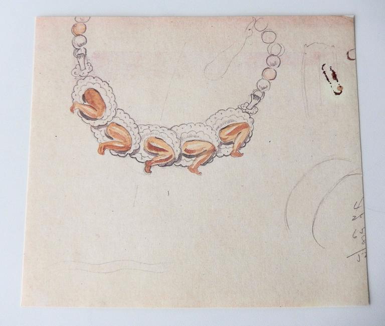 Late 20th Century Special Edition Portfolio of Original Sketches by William Spratling, 1987 For Sale