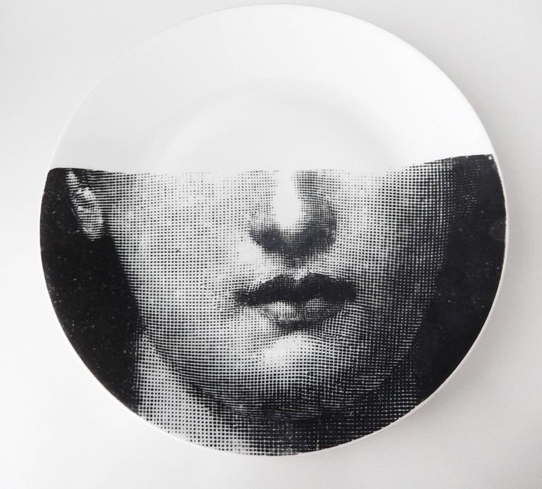 Modern Vintage Fornasetti Plate,